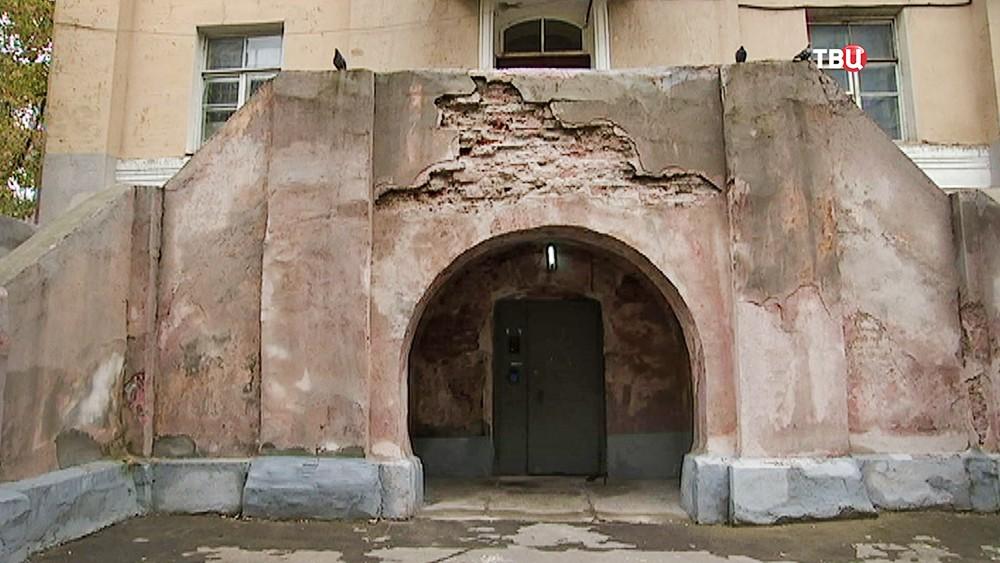 Бывший храм, попавший под реновацию
