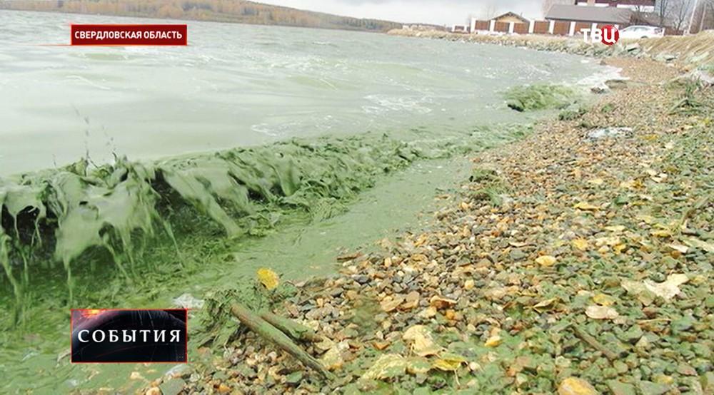 Водная гладь Чёрноисточинского водохранилища