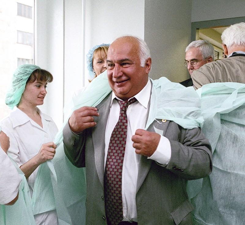 Директор онкологического исследовательского центра им. Н.Н.Блохина профессор Михаил Давыдо