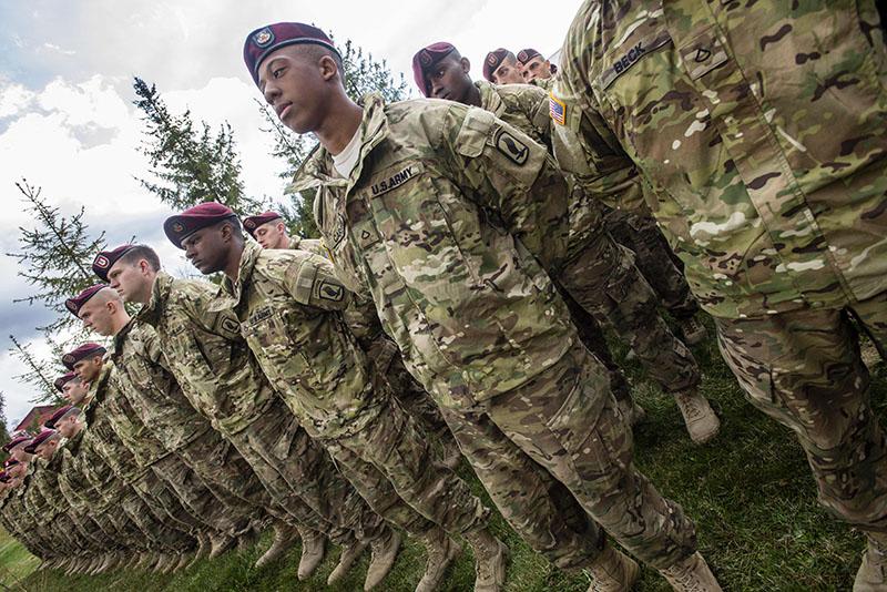 Солдаты армии США