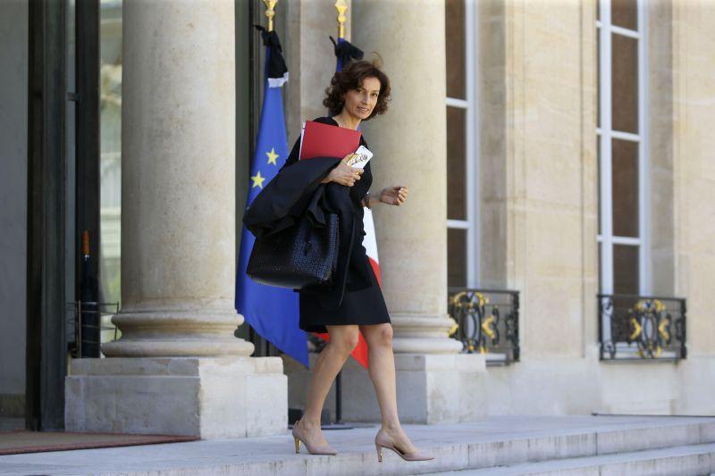 Бывший министр культуры Франции Одре Азуле