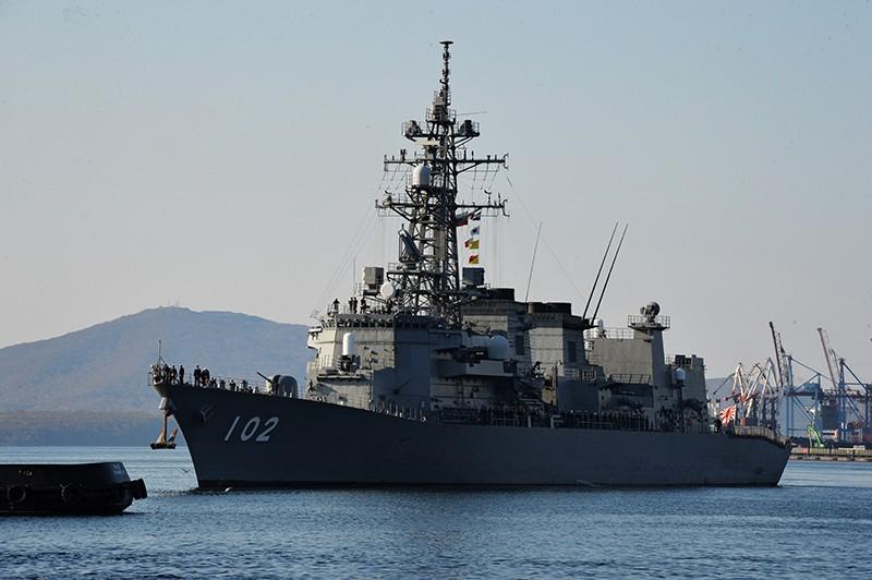 """Эсминец Морских сил самообороны Японии """"Харусамэ"""""""