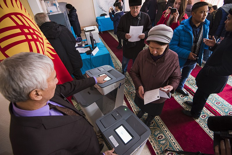 Выборы в Киргизии