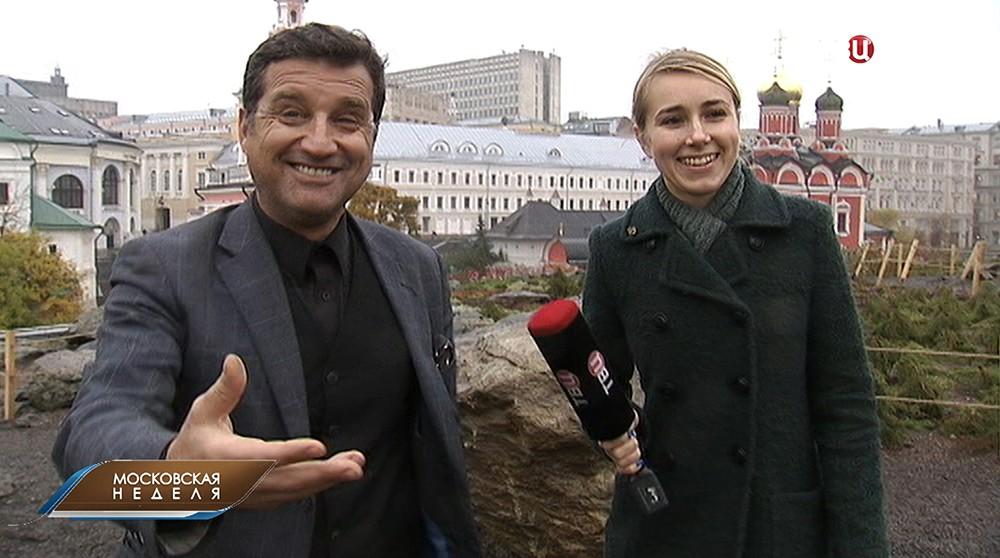Телеведущий Отар Кушанашвили