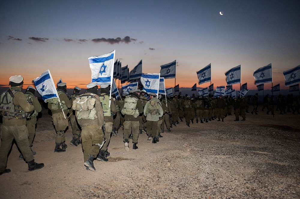 Бойцы армии Израиля