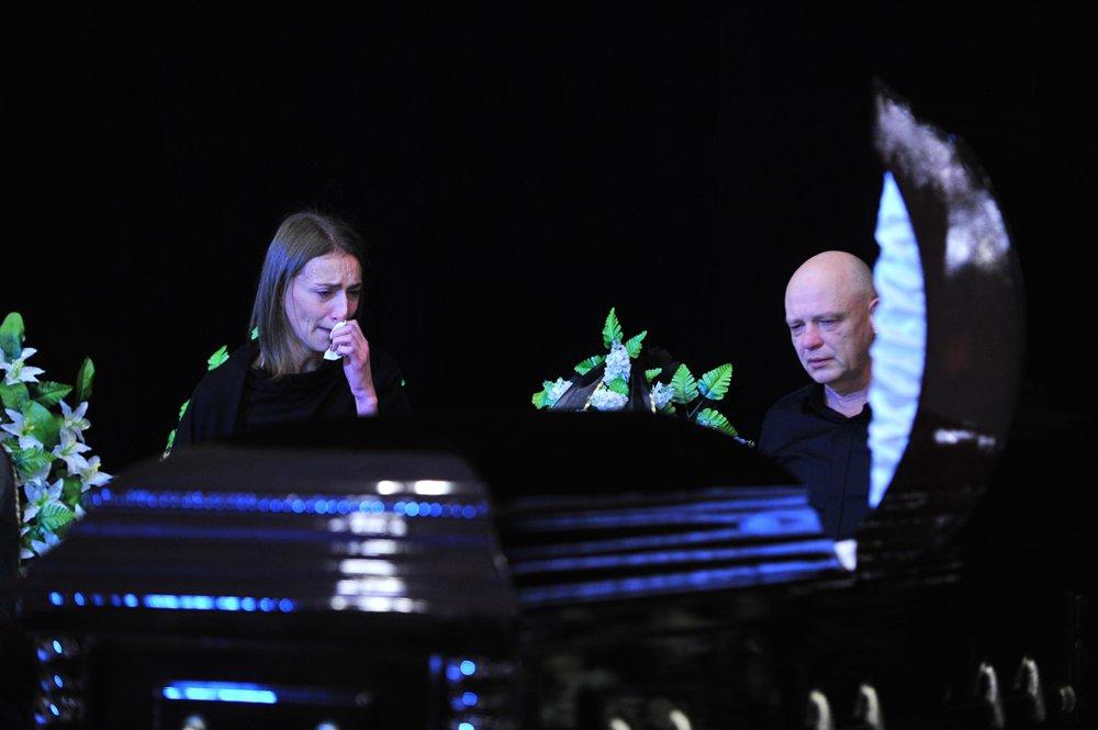 Церемония прощания с актером Дмитрием Марьяновым в Доме кино