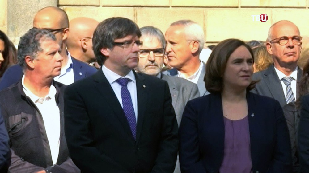 Глава Каталонии Карлес Пучдемон