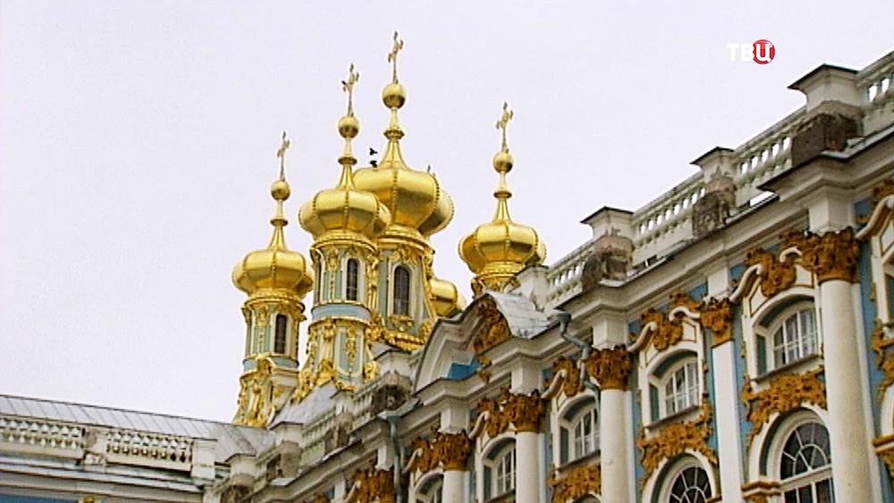 Реставрация церкви Екатерининского дворца