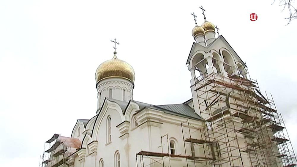 Храм в честь Андрея Рублева