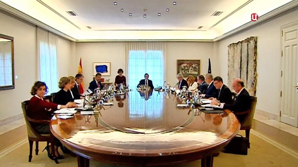 Заседание правительства Испании