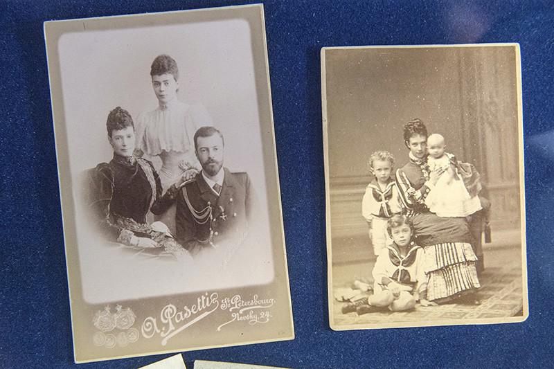 Фотографии из архива семьи Романовых