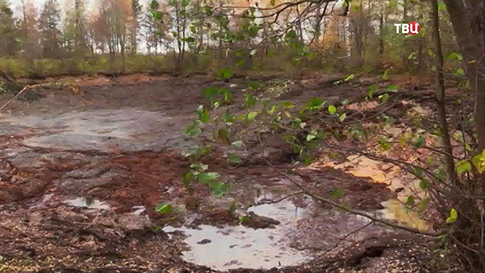 Исчезнувшие озеро во Владимирской области