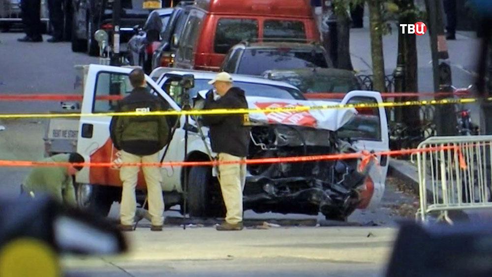 Теракт в Нью-Йорке