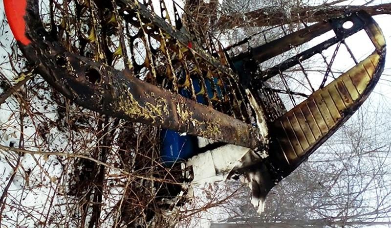 Обломки самолета Ан-2