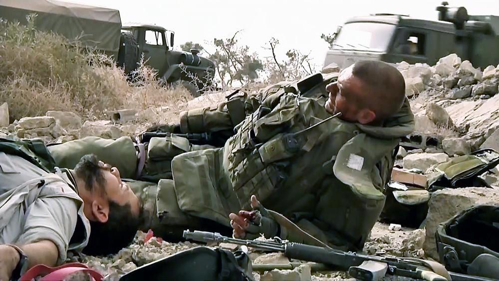Подрыв журналистов и сопровождающих их военных в Сирии