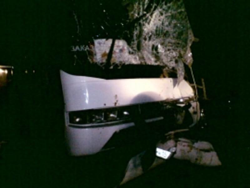 Последствия ДТП с автобусом в Ярославской области