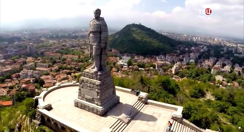 """Памятник """"Алеша"""" в Пловдиве, Болгария"""