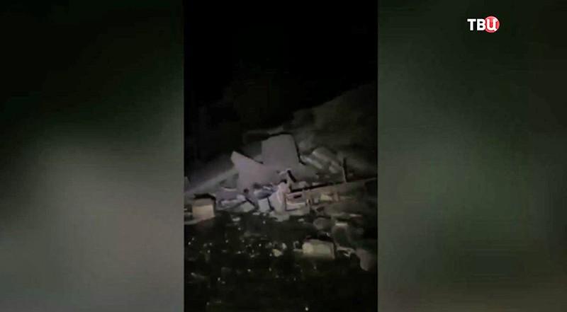 Землетрясения в Иране