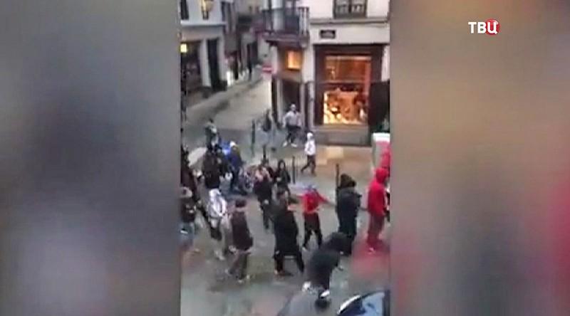 Беспорядки в Бельгии