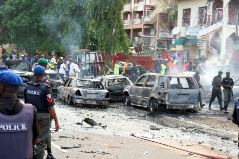 Теракт в Нигерии. Архивное фото