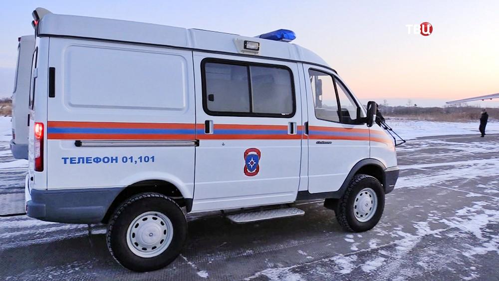 Машина МЧС России