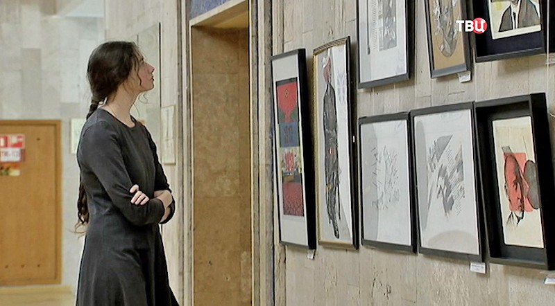 Художественная выставка к 100-летию революции