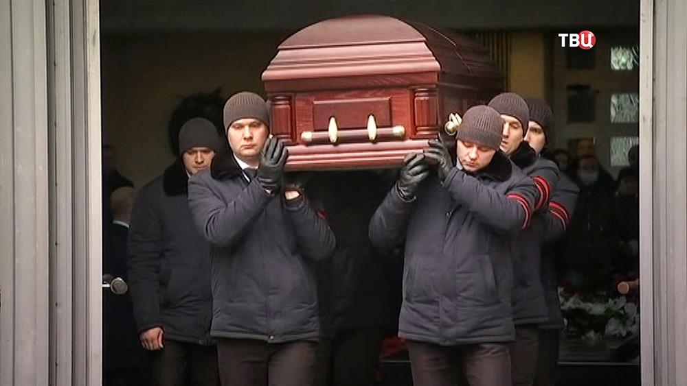 Церемония прощания с Борисом Ноткиным
