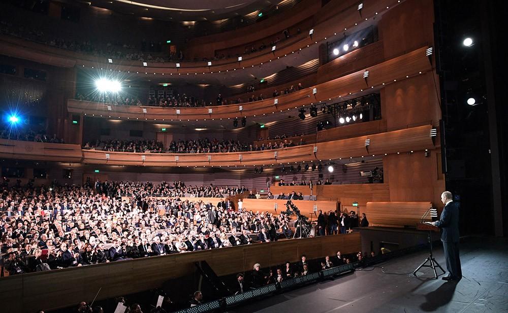 Церемония открытия VI Санкт-Петербургского международного культурного форума