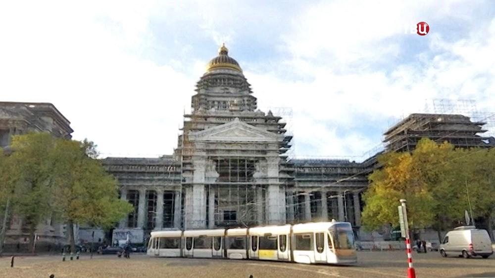 Здание суда в Брюсселе