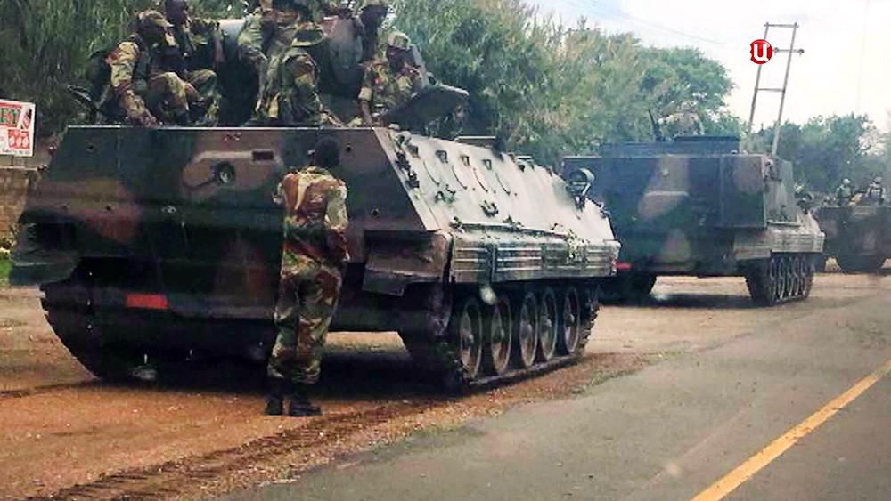 Военнослужащие армии Зимбабве