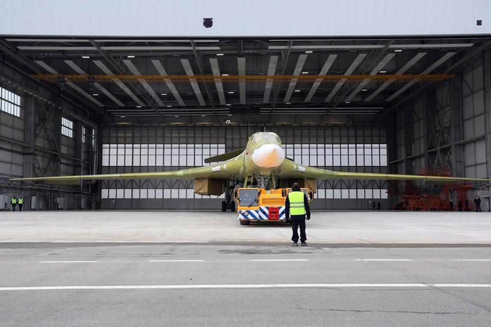 Стратегический бомбардировщик Ту-160М2
