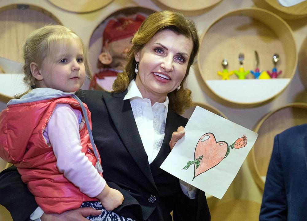 Жена президента Украины Марина Порошенко