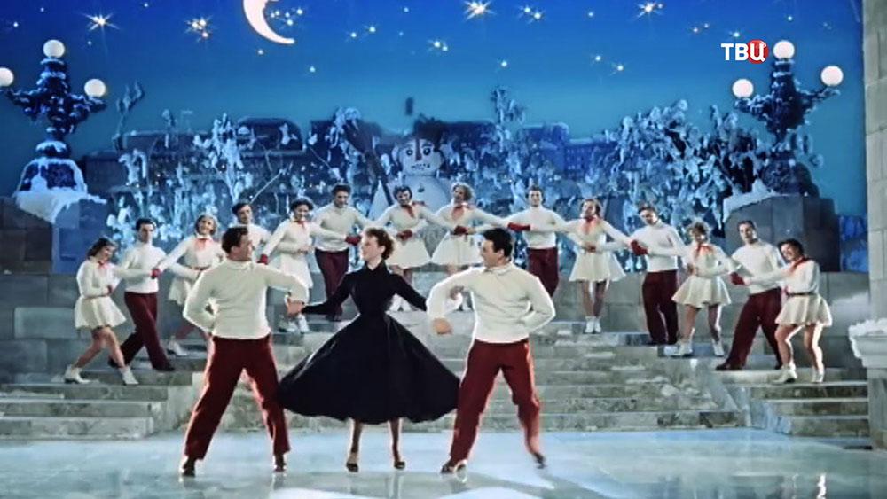 """Кадр из фильма """"Карнавальная ночь"""", режиссера Эльдара Рязанова"""
