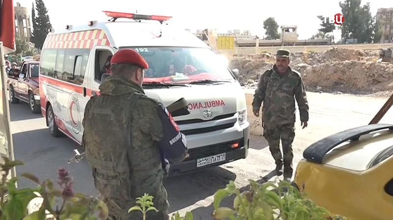 Сирийские врачи