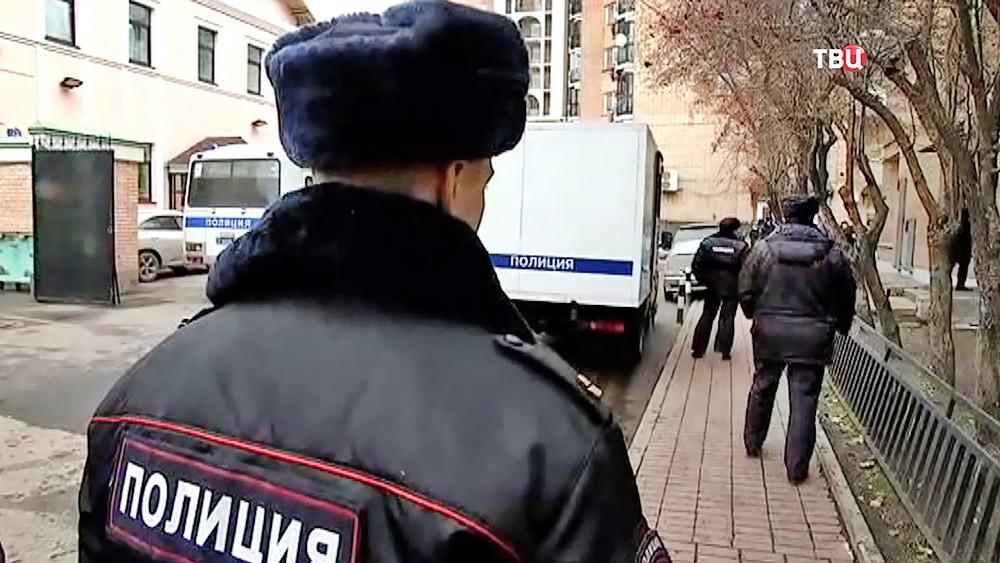 Конвойная служба полиции