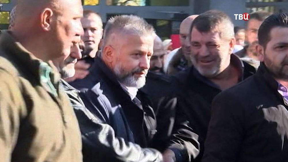 Бывший командующий группировкой войск Армии Республики Босния и Герцеговина во время Боснийской войны Насар Орич, обвиняемый в военных преступлениях