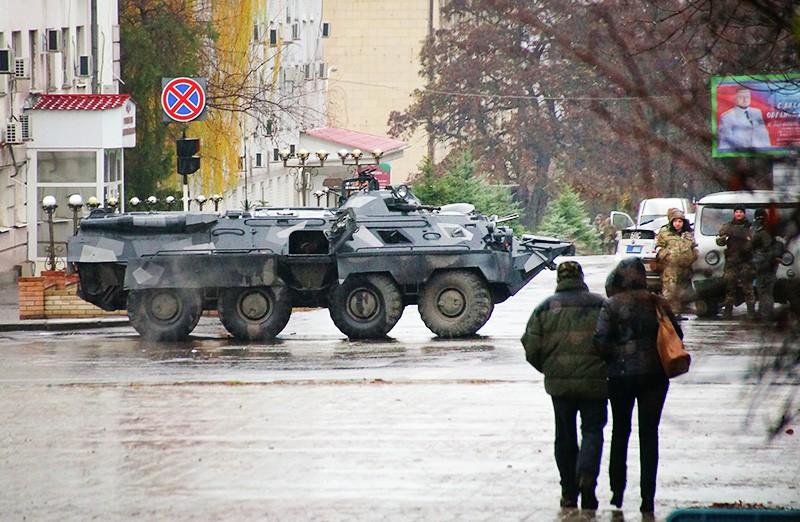 Спецоперация в Луганске