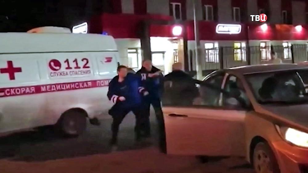 Нападение на водителя скорой помощи в Балашихе