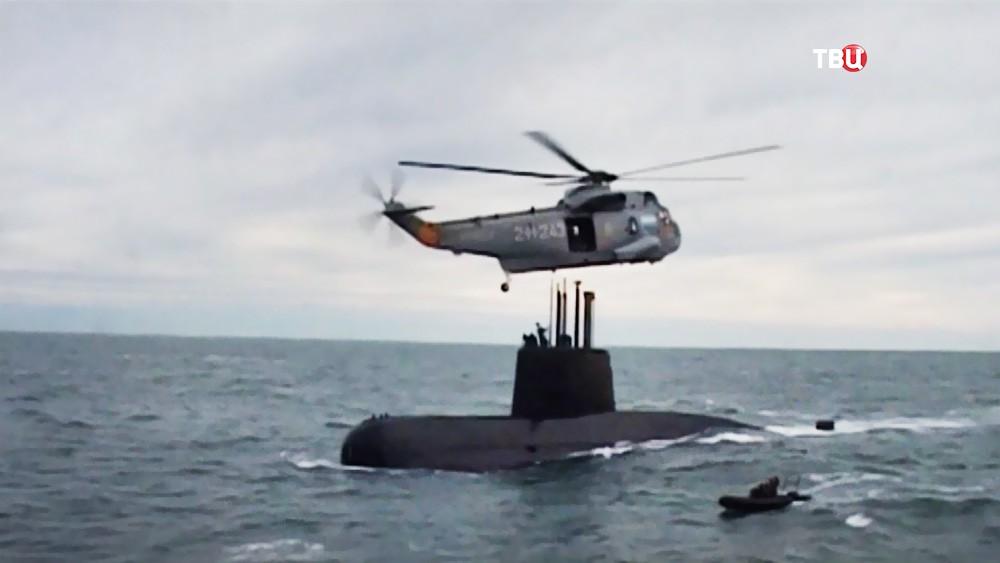Поисковая операция ВМС Аргентины