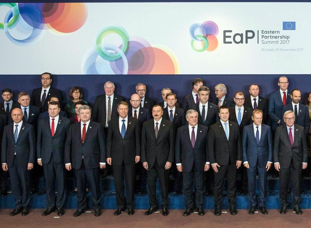 Пётр Порошенко на саммите с ЕС