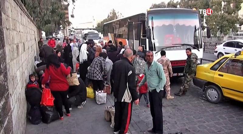 Рейсовый автобус на Дейр эз-Зор