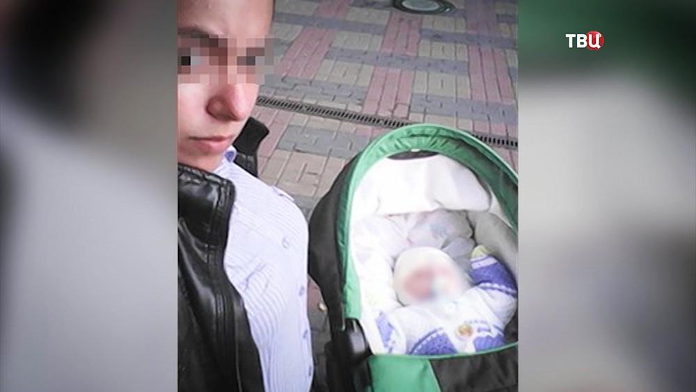 Родитель избитого младенца