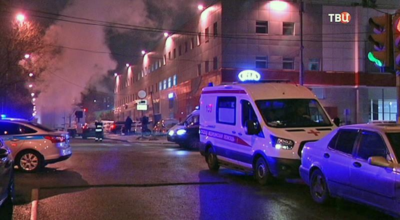 Аварии на теплотрассе в районе Гольяново