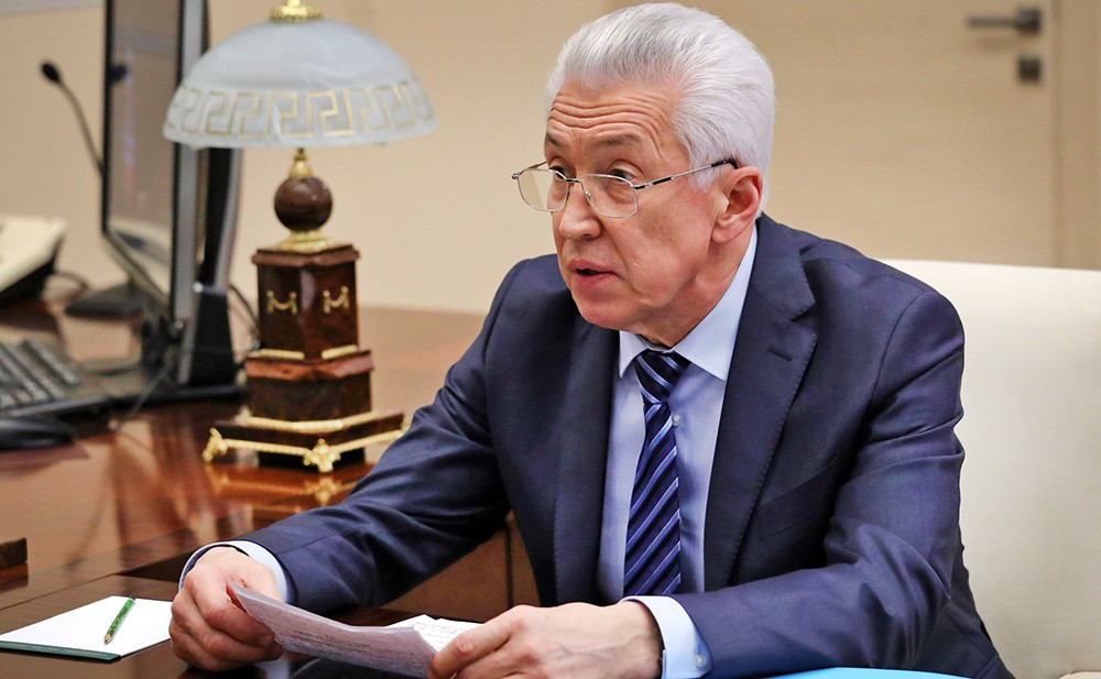 Глава Республики Дагестан Владимир Васильев