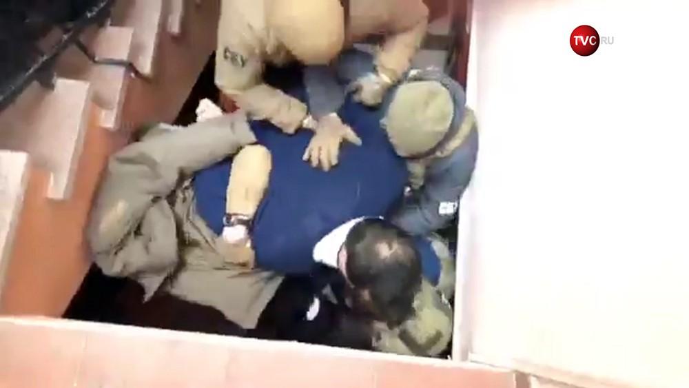 Задержание Михаила Саакашвили сотрудниками СБУ