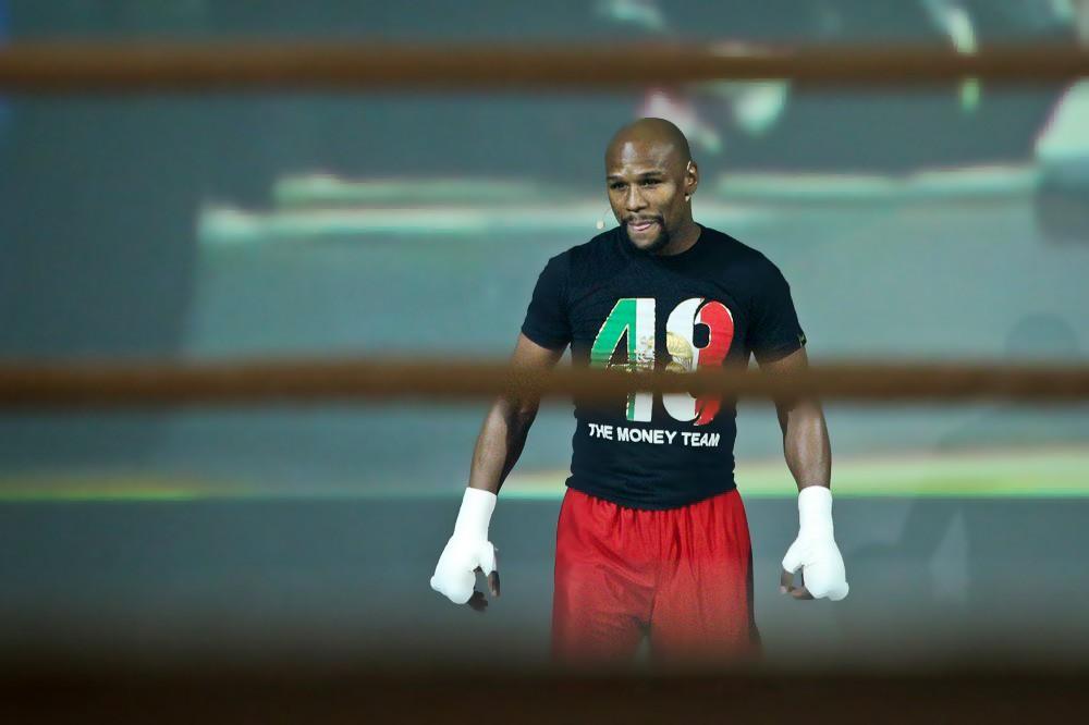Американский боксер Флойд Мейвезер