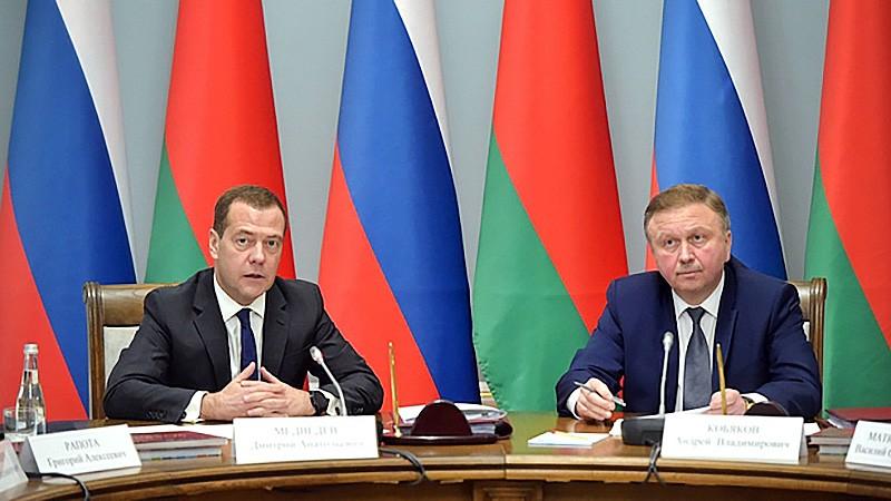 Дмитрий Медведев и Андрей Кобяков