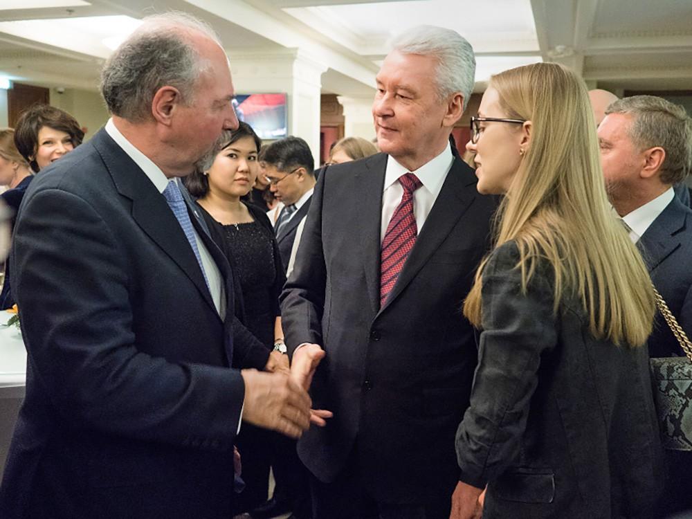 Сергей Собянин на приеме в честь аккредитованного в Москве дипломатического корпуса
