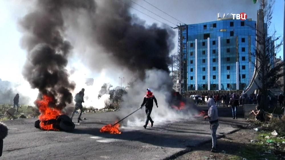 Беспорядки в секторе Газа