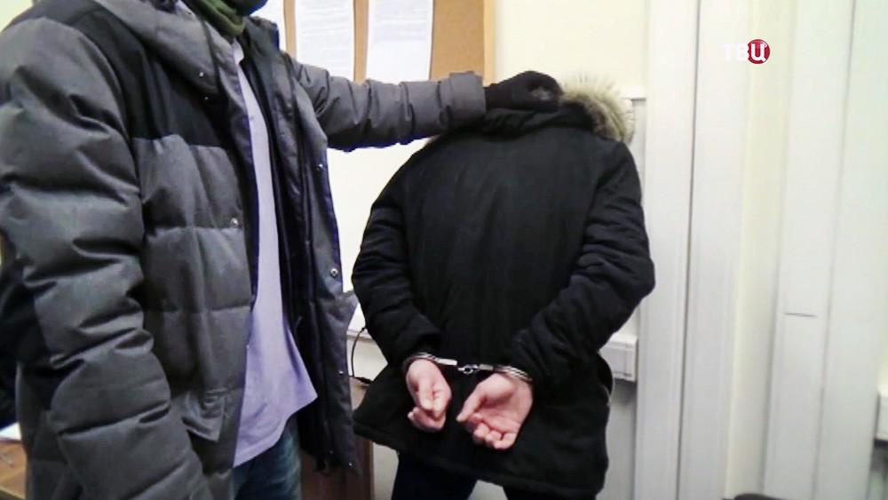 Задержание подозреваемого в терроризме